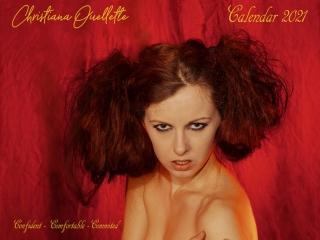 Christiana Ouellette's Remote Calendar 2021